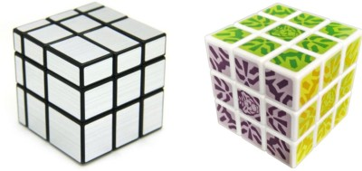 ShopperBay Silver Mirror Cube and Kung Fu Cube Combo