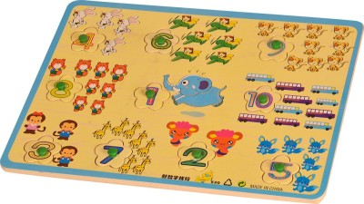 Kidken Number with Picture Puzzle