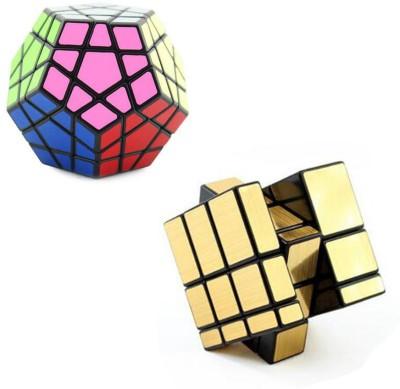 Taxton Shengshou Megamnix & Gold Mirror Cube