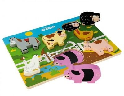Tidlo Chunky Farm Puzzle
