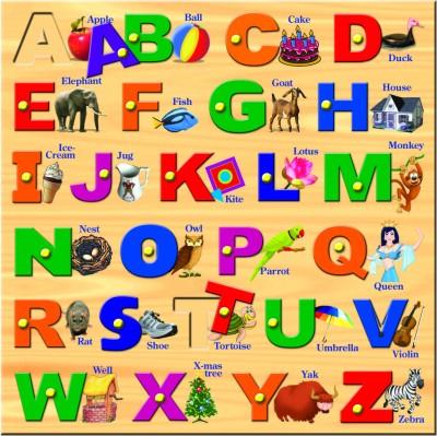 Prasima Toys Square Alphabet Puzzle