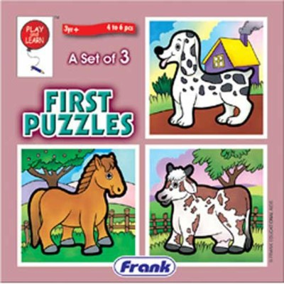 Frank Animals First Puzzle