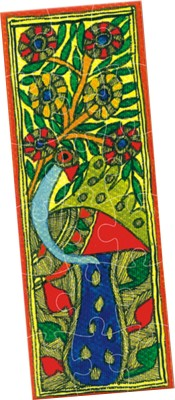 TOY KRAFT Madhubani Art Puzzles 3 in 1