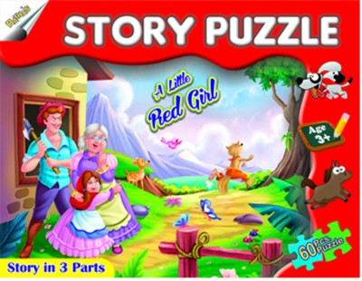 Ratnas Story Puzzle - A Little Red Girl
