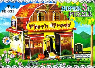 UniqueToys Super 3D Puzzle Vintage Bakery