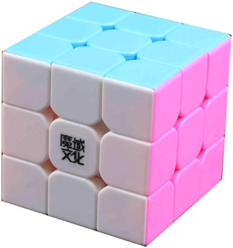 MoYu WeiLong Version II Pink Stickerless Professional Speed Cube(1 Pieces)