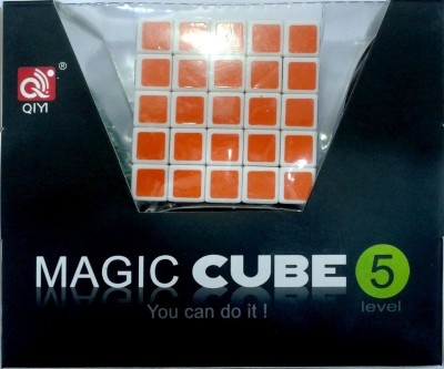Toy Corner 5 x 5 Magic Cube With Screw Driver And Oil