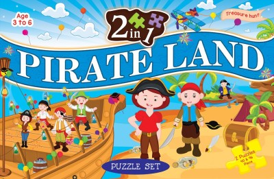 ART FACTORY 2 IN 1 PIRATE LAND
