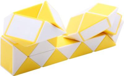 Neo Gold Leaf Magic White Yellow Zig Zag