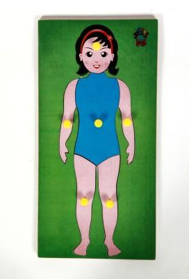 Skillofun Skillofun Parts of Body Tray (Girl)