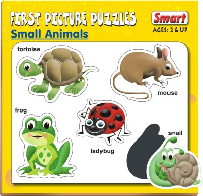Smart First Picture Puzzles - Small Animals