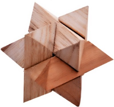 Jigyasa Handcrafted Wooden Star Puzzle