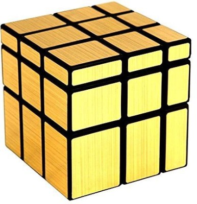 AV Shop Gold Mirror Cube