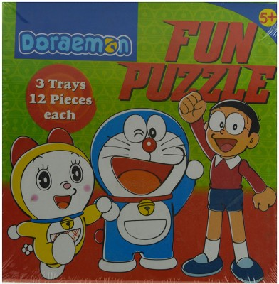 BPI Doraemon Fun Puzzle 3070 Puzzle Game