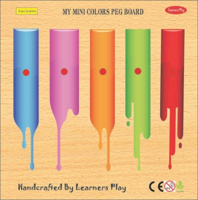 Learner's Play Mini Colors Knob Puzzle