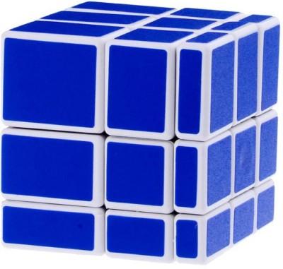 ShopperBay Mirror cube Blue in White
