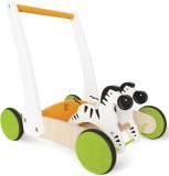 Hape Hape-Wooden Galloping Zebra Cart -E...