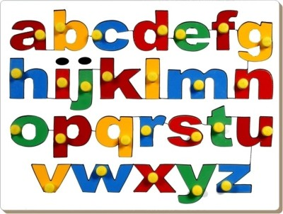 Little Genius English Alphabet Tray-Lowercase