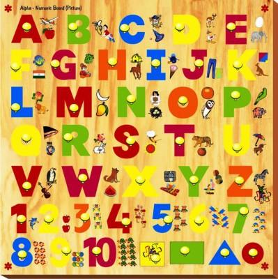 Kinder Creative Alpha - Numeric Board