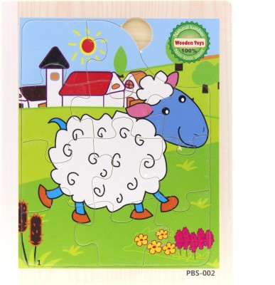 Treasure Trunk Book Puzzles - Sheep