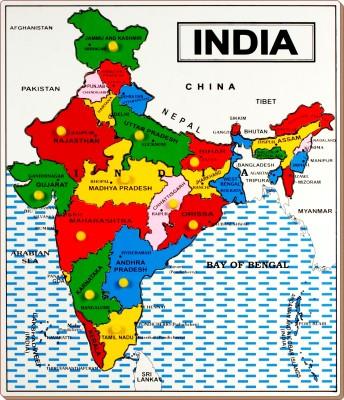 Little Genius Map India - Large