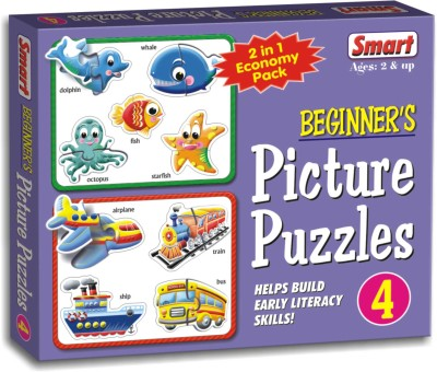 Smart Beginner's Picture Puzzles - 4