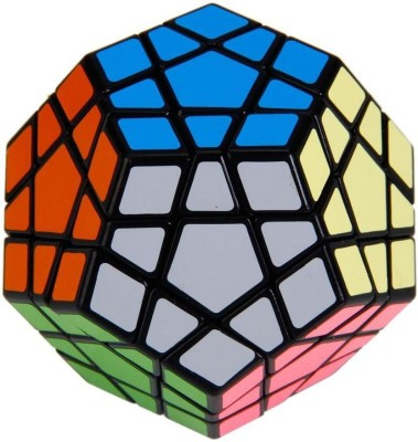 Krypton 12-Axis 3-Layer Shengshou Megaminx Pentagon Magic Puzzle Cube Black