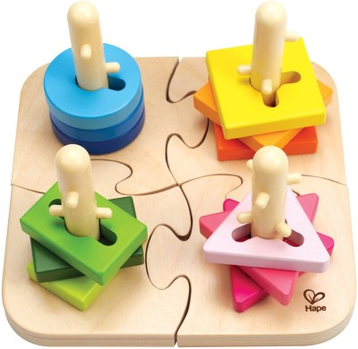 HAPE Wooden Creative Peg Puzzle