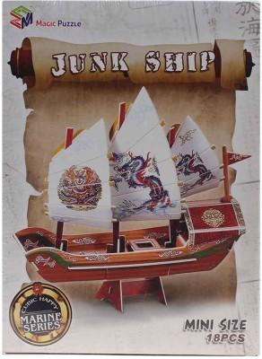 Magic Puzzle Junk Ship 3D Puzzle