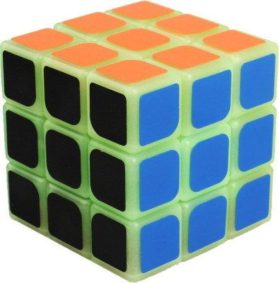 Sky Model Luminous Fluorescence Magic Cube Puzzle Glow In The Dark
