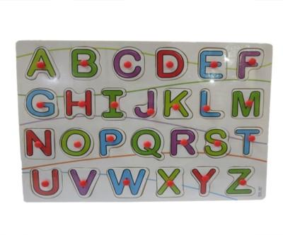 DCS Wooden Puzzles Board [Alphabets](26 Pieces)