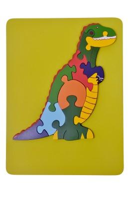 wood o plast T-Rex Raised Puzzle Tray