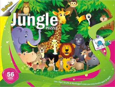 Ratnas Jungle Puzzle