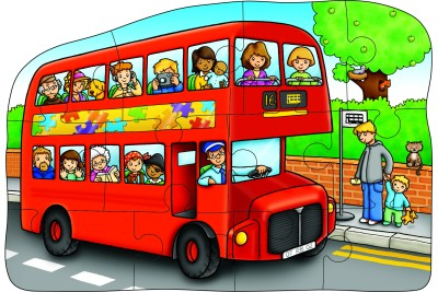 Orchard Toys Little Bus Double Sided Puzzle