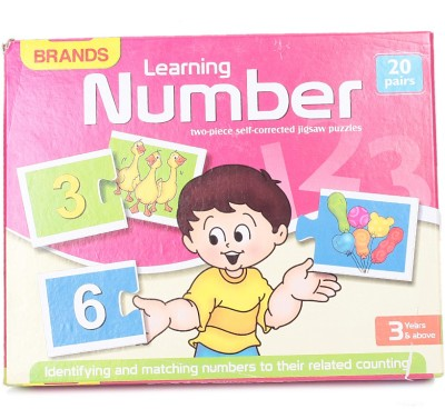 Brands Learning Numbers