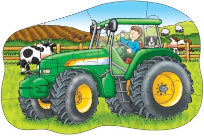 Orchard Toys Little Tractor Double Sided Puzzle