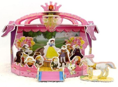 Lionsland Snow White House 3D Puzzle