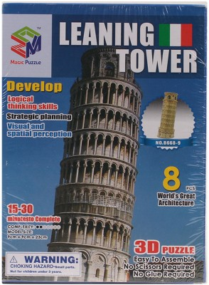 Magic Puzzle Leaning Tower 3D Puzzle