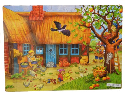 ZOLU Wooden Jigsaw puzzle House Collection