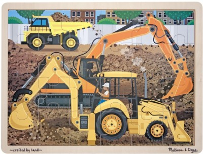 Melissa & Doug Construction Jigsaw