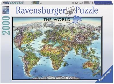 Ravensburger World Map Jigsaw