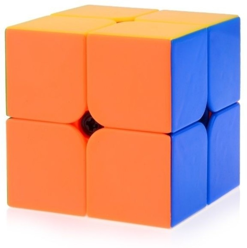 MoYu Lingpo 2x2 Speed Cube Stickerless(1 Pieces)