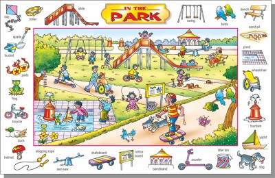 Creative's Picture Talk in the Park
