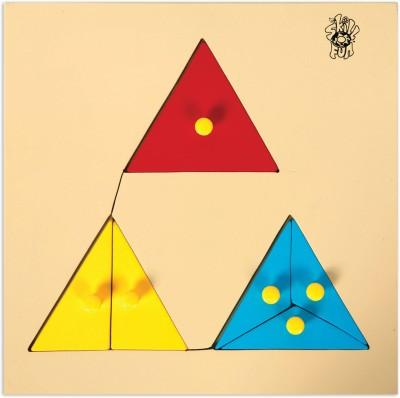 Skillofun Skillofun Parts of Triangle Tray (With Knobs)