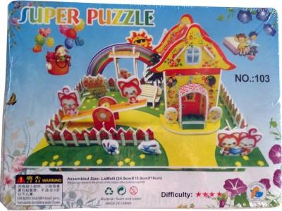 Super Puzzle 3d Garden Play
