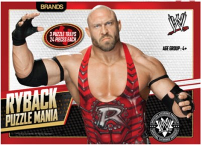 Brands WWE Ryback Puzzle Mania