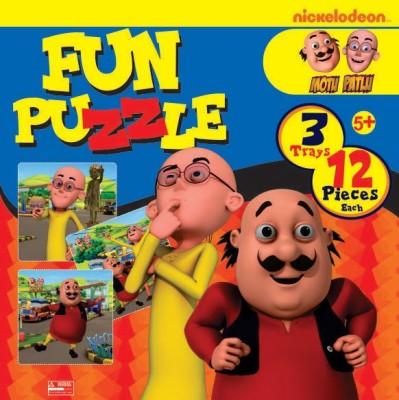 BPI Motu Patlu- Fun puzzle 2