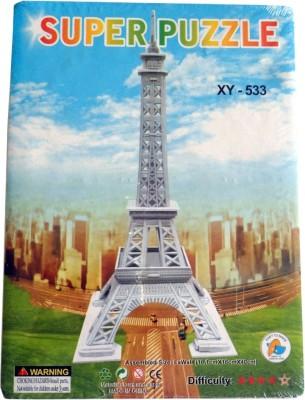 Super Puzzle 3d Eiffel Tower