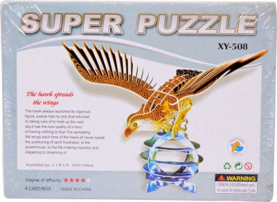 Super Puzzle The hawk spreads the wings