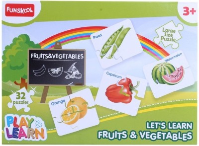 Funskool Fruits Vegetables Puzzles for Kids